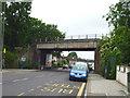 TQ3667 : Elmer's End:  Railway bridge over Upper Elmer's End Road by Dr Neil Clifton