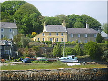 J5849 : Houses overlooking the Quay at Strangford by Eric Jones