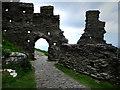 SX0589 : Tintagel Castle by Chris Gunns