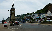 SZ5881 : The Esplanade, Shanklin, Isle of Wight by Peter Trimming