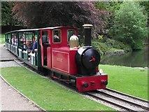SK0573 : Miniature Railway, Buxton by Kenneth  Allen
