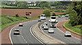 J2864 : The M1, Tullynacross near Lisburn (2) by Albert Bridge