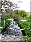 NY4756 : Mill race, Warwick Bridge by Rose and Trev Clough
