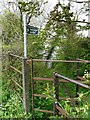 NY3559 : Public footpath to Sandsfield by Rose and Trev Clough