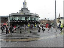 SJ3490 : Queen Square Centre, Liverpool by Kenneth  Allen