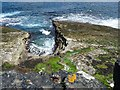HY3935 : Inlet on the coastline below Skatequoy, Rousay, Orkney by Claire Pegrum
