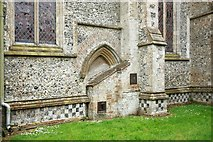 TL9568 : St George, Stowlangtoft by John Salmon