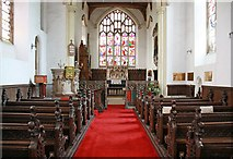 TL9568 : St George, Stowlangtoft - East end by John Salmon