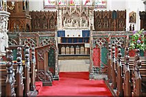 TL9568 : St George, Stowlangtoft - Chancel by John Salmon