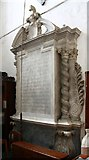 TL9568 : St George, Stowlangtoft - Monument by John Salmon
