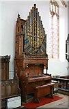 TL9568 : St George, Stowlangtoft - Organ by John Salmon