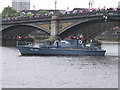 TQ2777 : Diamond Jubilee Pageant - ML137 HMS Medusa by David Hawgood