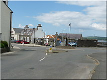 NX3343 : The Square, Port William by Billy McCrorie