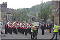 SD9702 : Market Street with Wardle High School band by Peter Turner