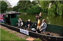 SS9612 : Jazz Band on the Canal by Michael T Wilson
