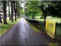 H4573 : Footpath, Omagh by Kenneth  Allen