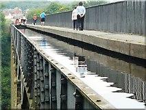 SJ2742 : The Pontcysyllte Aqueduct by John M Wheatley