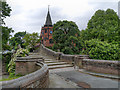 SJ3384 : Port Sunlight, Bridge Over The Dell by David Dixon