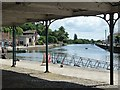 SX9292 : Looking down the Exe from the Fishmarket by Rob Farrow