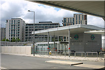 TQ3884 : Stratford International DLR station by David Kemp