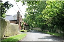 SK9859 : Far End (lane) at Boothby Graffoe by J.Hannan-Briggs