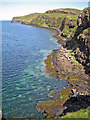 NG1650 : Cliffs on eastern side of Loch Pooltiel by Richard Dorrell