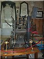 SX9292 : Clock mechanism, Exeter Cathedral by Rob Farrow