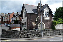 ST3288 : Stone-built house, St John's Road, Newport by Jaggery