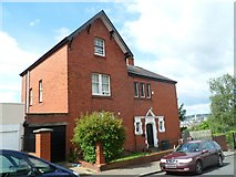 ST3288 : St John's Vicarage, Newport by Jaggery