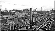 SP3378 : Coventry Station during reconstruction by Ben Brooksbank