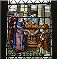 SX9292 : Ancient Glass Panel, Exeter Cathedral (1) by Rob Farrow