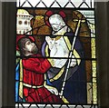 SX9292 : Ancient Glass Panel, Exeter Cathedral (2) by Rob Farrow