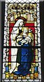 SX9292 : Ancient Glass Panel, Exeter Cathedral (3) by Rob Farrow