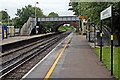 SJ3774 : Looking South, Capenhurst Railway Station by El Pollock