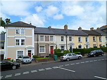 ST3288 : Kensington Place houses, Newport by Jaggery