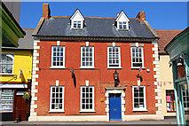 ST0743 : The Georgian House - Watchet by Wayland Smith