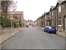 SE1225 : George Street - looking towards Wakefield Road by Betty Longbottom