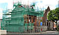 J3674 : House under restoration, Belfast by Albert Bridge
