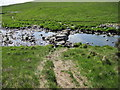 NR5273 : Stepping stones across Corran River by Chris Wimbush