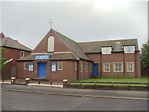 NZ3267 : St Mark's United Reformed Church by Bill Henderson