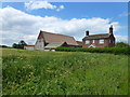TG4325 : Frenches Farm and Coronation Cottage, Waxham by Richard Humphrey