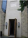 SP5106 : T S Eliot Theatre, Merton College by Virginia Knight