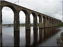 NT9953 : Coastal Berwickshire : The Royal Border Bridge, Berwick-Upon-Tweed by Richard West