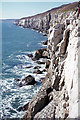 SZ0276 : Cliffs at Swanage by Ian Taylor