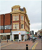 SO9490 : Corner of New Street and High Street, Dudley by Jaggery