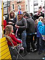 SO1091 : Face painter at Diamond Jubilee street party by Penny Mayes