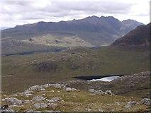 NG9982 : Ridge north of Creag-mheall Mor by Sally