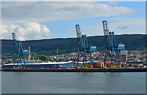 NS2776 : Clydeport Container Terminal by The Carlisle Kid