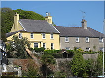 J5849 : Houses overlooking the Old Quay at Strangford by Eric Jones