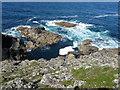 SW3431 : Cape Cornwall by Chris Gunns
